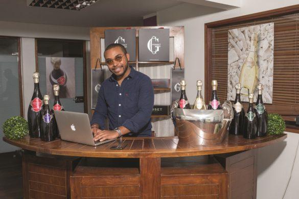 Thomas Varru-Mouriesse, distributeur des champagnes de la Maison Gosset en Martinique