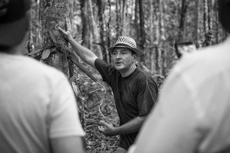 Cédric Coutellier - producteur de vanille - Guadeloupe