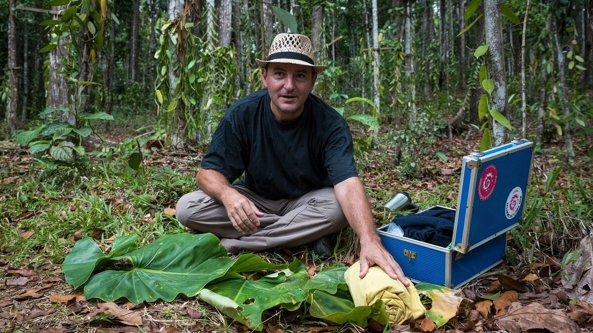 Cédric Coutellier, producteur et protecteur de la vanille guadeloupéenne