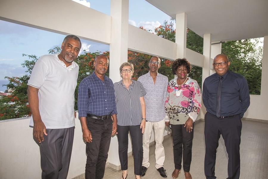 Membres du bureau de la CMAR Martinique