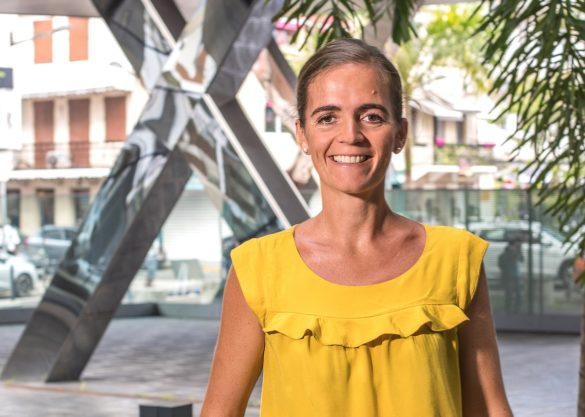 Sophie Deknuydt, cheffe de cabinet à la cour d'appel de Fort-de-France
