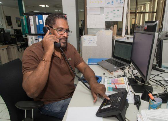 Christian Castale, Gestionnaire ressources réseau chez Orange Guyane