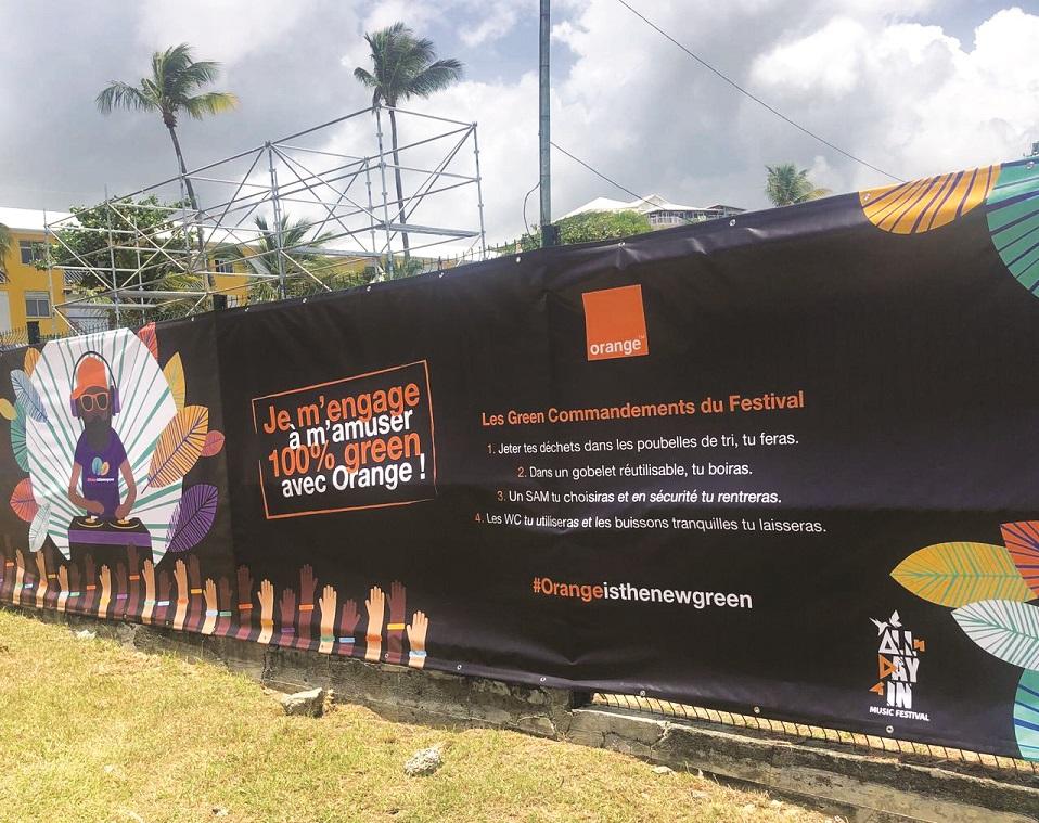 Charte de Orange pour des festivals éco-responsables
