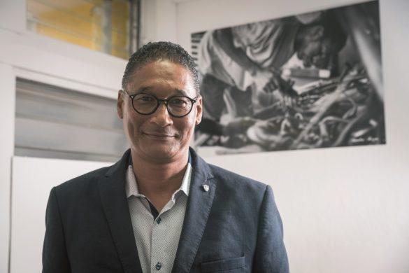 Simon Vainqueur, président de la CMAR Guadeloupe