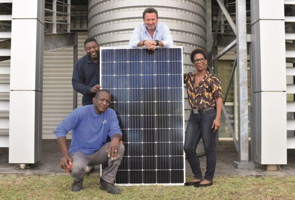 Equipe de l'entreprise Sunzil en Guadeloupe