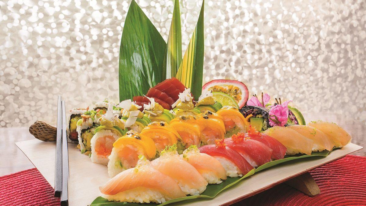 Sushi péyi : entre tradition japonaise et terroir martiniquais