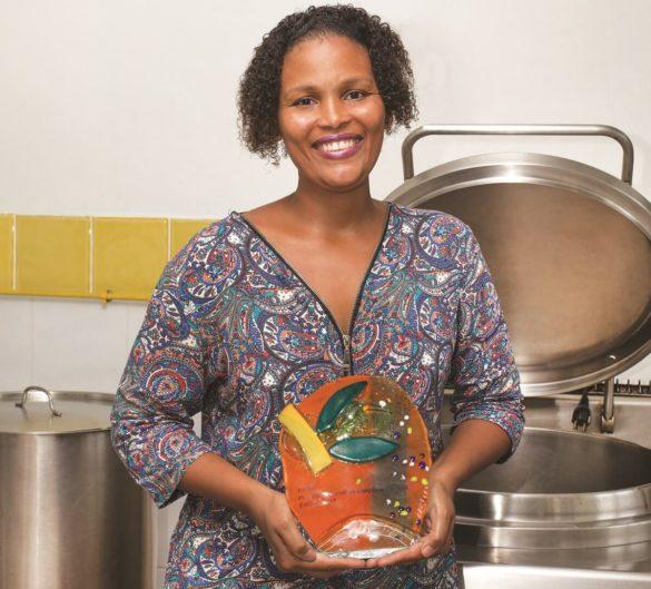 Christelle Dangany, créatrice des plats préparés locaux pour bébés, Tibouboun'