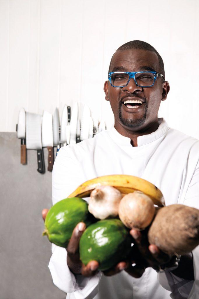 Fabrice Calabre, créateur de Cochon Plus et Traiteurs Péyi en Guadeloupe