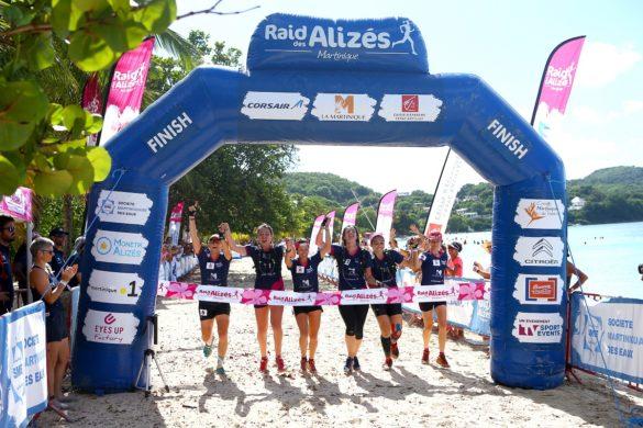 Arrivée du Raid des Alizés - Martinique 2018