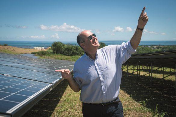Nicolas de Fontenay, directeur d'Albioma aux Antilles-Guyane