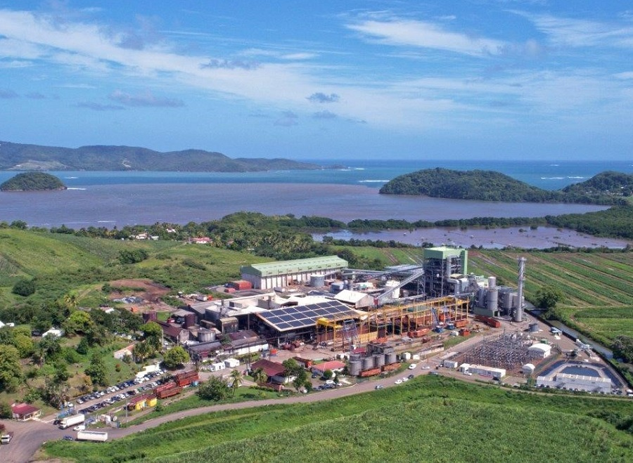 Centrale de production d'énergie à base de biomasse en Martinique