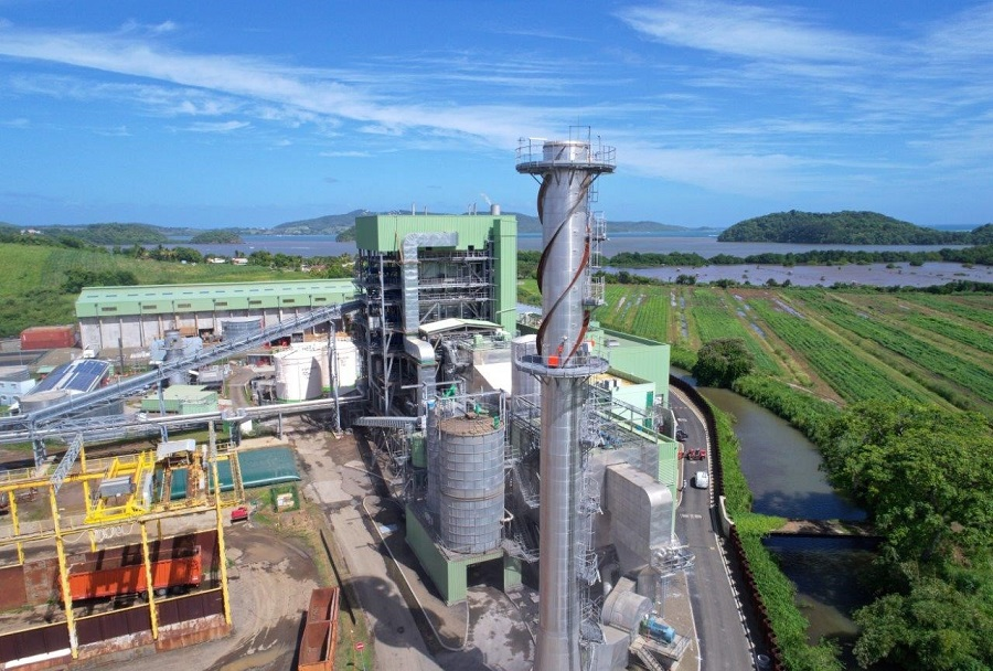 Centrale Galion 2 d'Albioma en Martinique