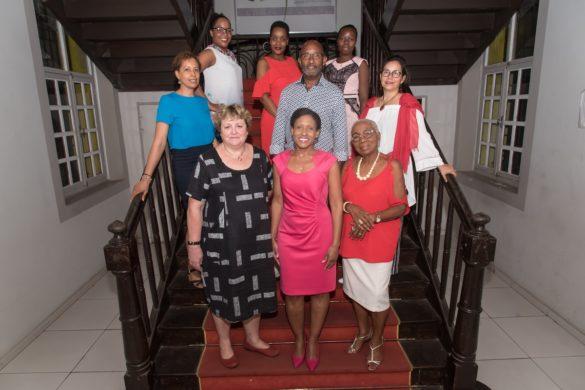 Membres du CRCDC Guyane, engagé pour le dépistage du cancer