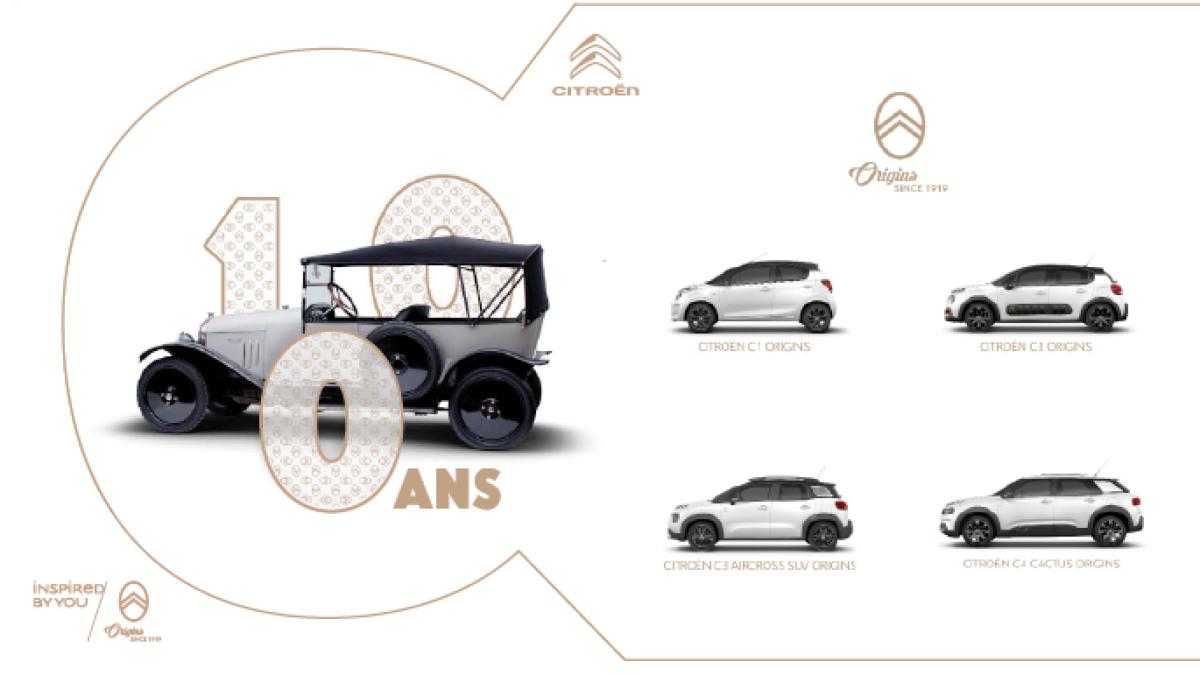 ORIGINS, nouvelle édition collector pour les 100 ans de Citroën