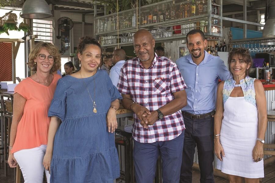 Collaborateurs d'Ecofip en Martinique