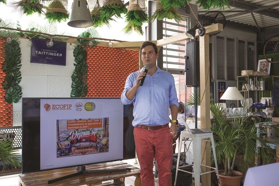 Grégoire de Vergeron, directeur d'Ecofip en Martinique, spécialiste de la défiscalisation