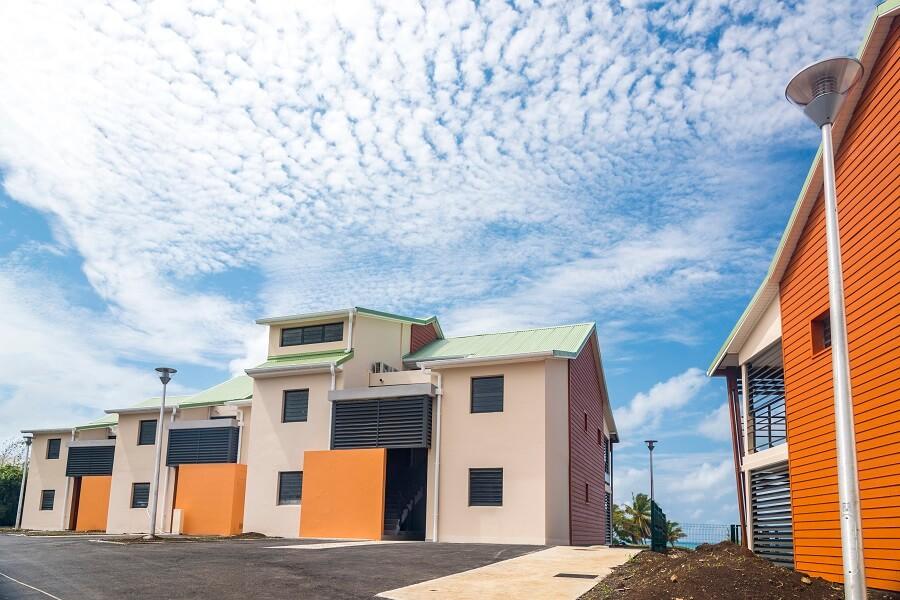 Résidence réalisée par l'entreprise de BTP ICM en Guadeloupe