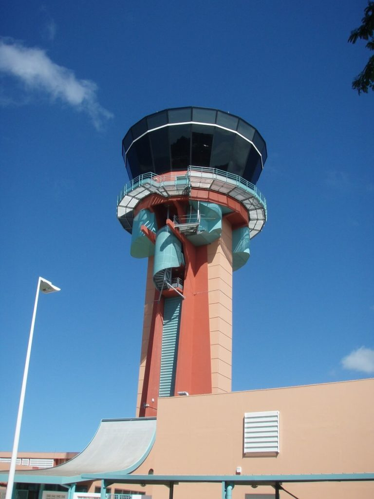 Tour du Raizet réalisée par l'entreprise de BTP, ICM en Guadeloupe