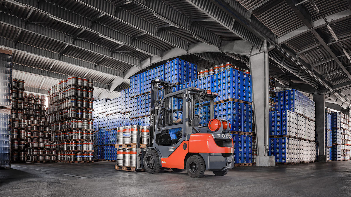 Toyota Material chez Bamitel : manutention sécurisée et productivité