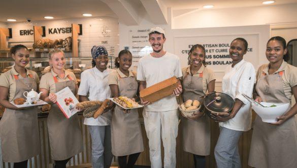 Equipe de la Maison Kayser de Jarry en Guadeloupe