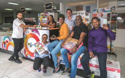 Equipe de Majy Services en Guadeloupe