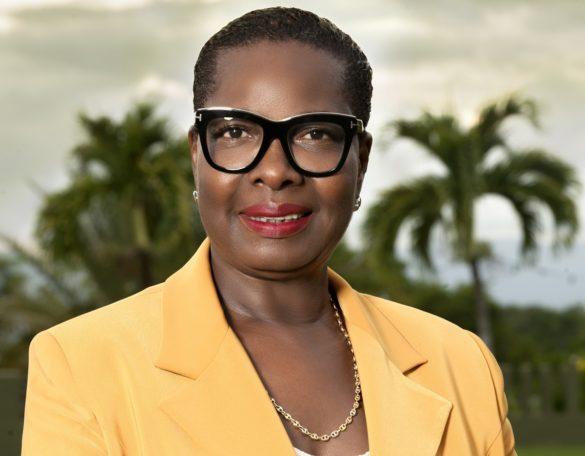 Nadia Celine, adjointe à la mairie du Gosier en Guadeloupe