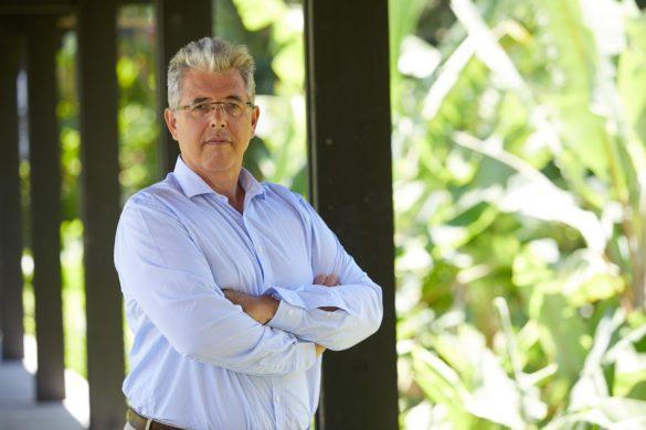 Thierry Kergall, d'Orange Antilles-Guyane, chargé du déploiement de la fibre