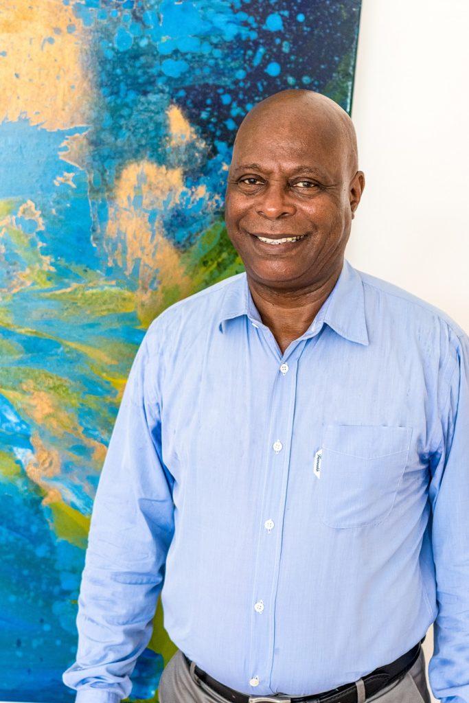 Francs Baptiste, président de l'OTI de la communauté d'agglomération Riviera du Levant en Guadeloupe