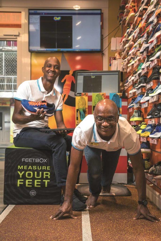 Créateurs des boutiques Jogger's Sport, podologues et experts des chaussures de sport