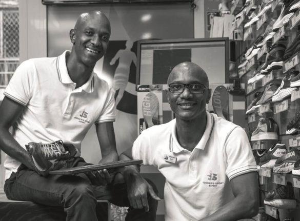 Les frères Brute, créateurs du magasin Jogger's Sport en Guadeloupe