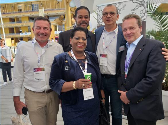 Représentants ultramarins à la REF 2019 du MEDEF