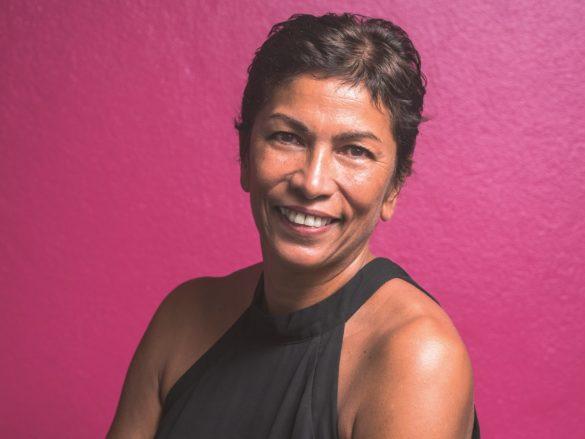 Karine Besombes, présidente de Réseau Entreprendre Guadeloupe