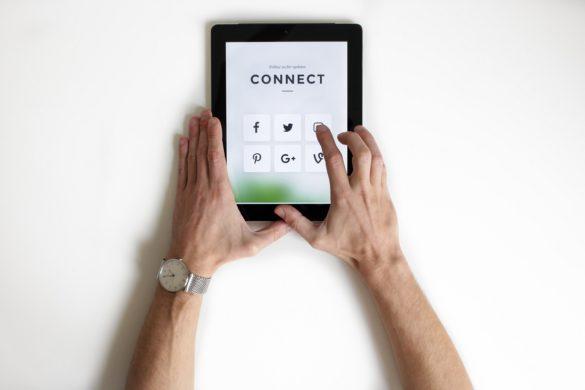 Tablette numérique illustrant la digitalisation