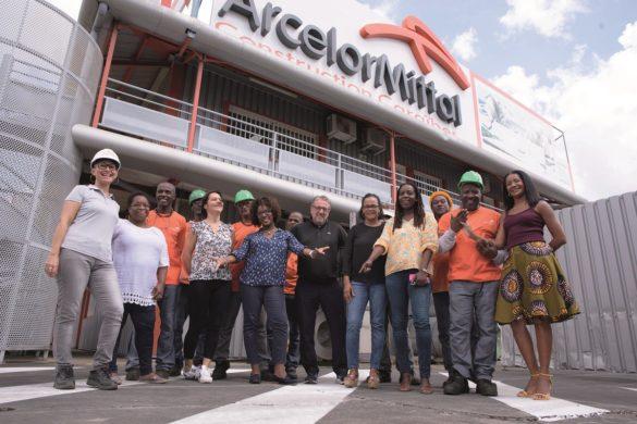 Bureaux de ArcelorMittal Construction Caraibes en Guadeloupe