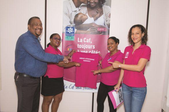 Equipe du Service Attentionné Naissance en Martinique