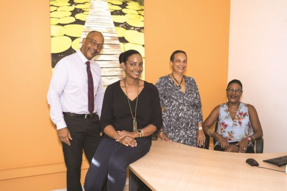 Equipe de la CMA Martinique en charge de la VAE