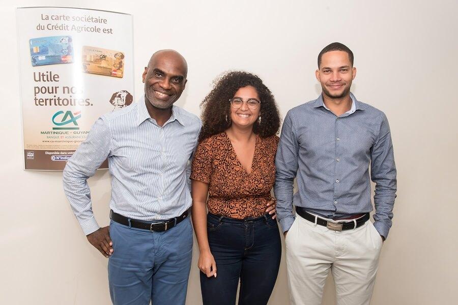 Equipe du Crédit Agricole Guyane