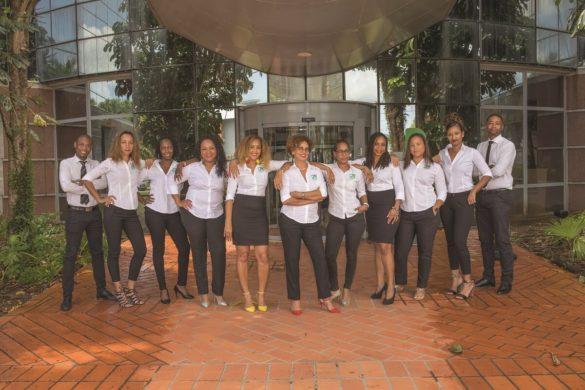 Equipe du pôle dédié aux clients professionnels - Crédit Agricole Martinique et Guyane