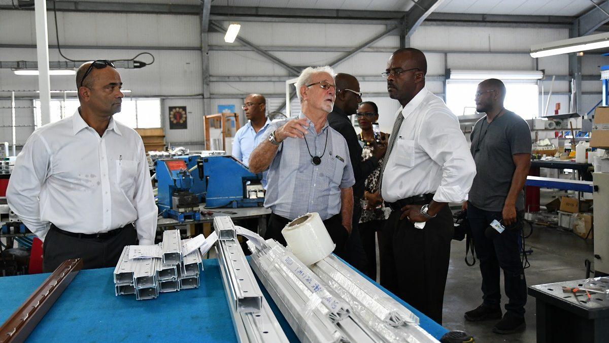 Région Guadeloupe accompagne les entreprises industrielles innovantes