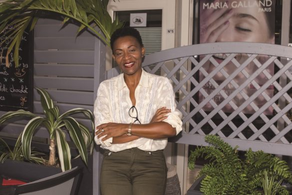 Corinne Thimodent-Nabal, créatrice de GloaSanvé© - maroquinerie en Guadeloupe