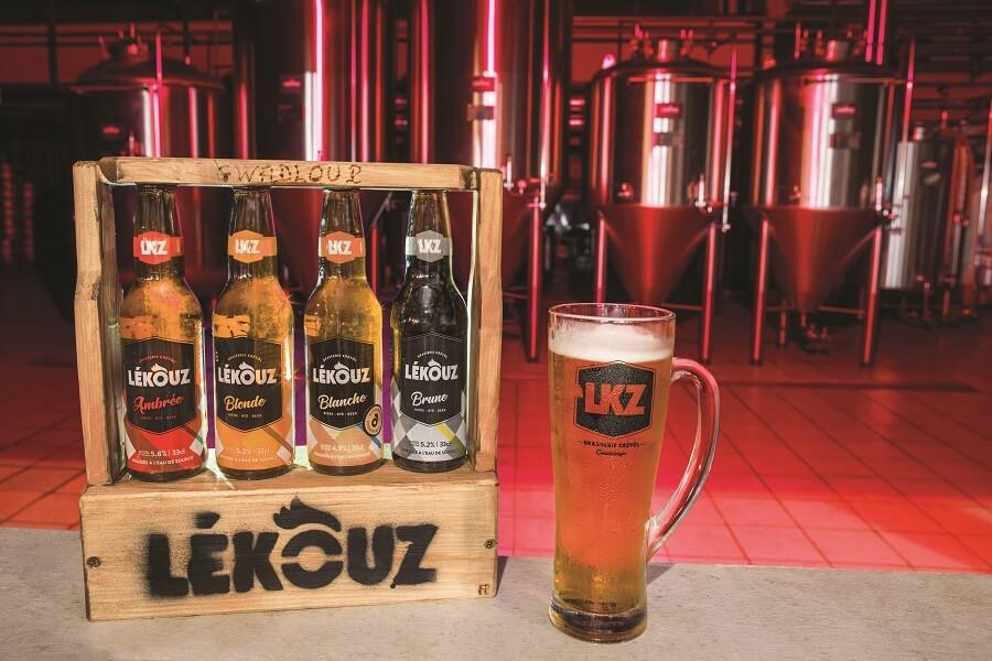 Bières artisanales Lékouz - Guadeloupe