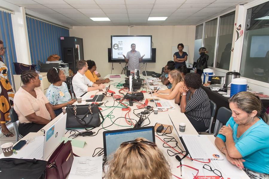 Atelier à la maison digitale de Matoury