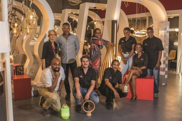 Equipe du showroom Mille éclats de Blandin Guadeloupe