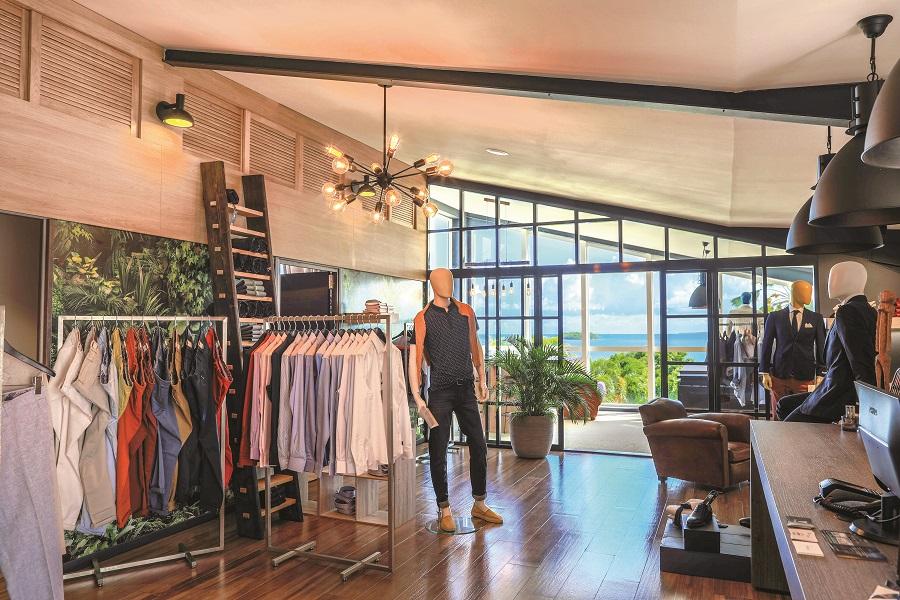 Intérieur concept store Mon Vestiaire - Guadeloupe