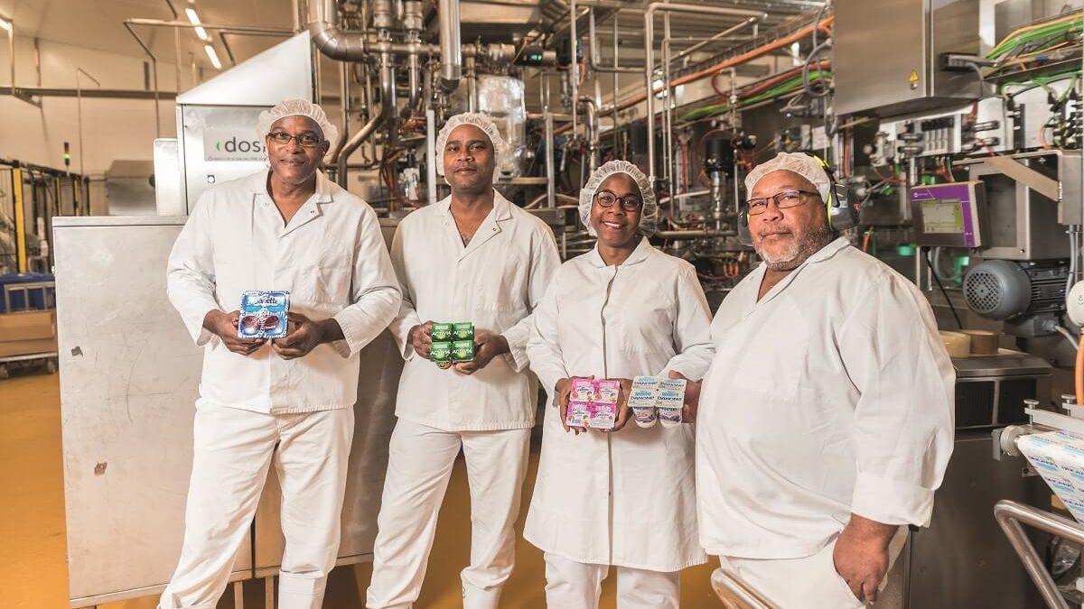 Danone en Martinique, production 100% locale de l'usine SAPY