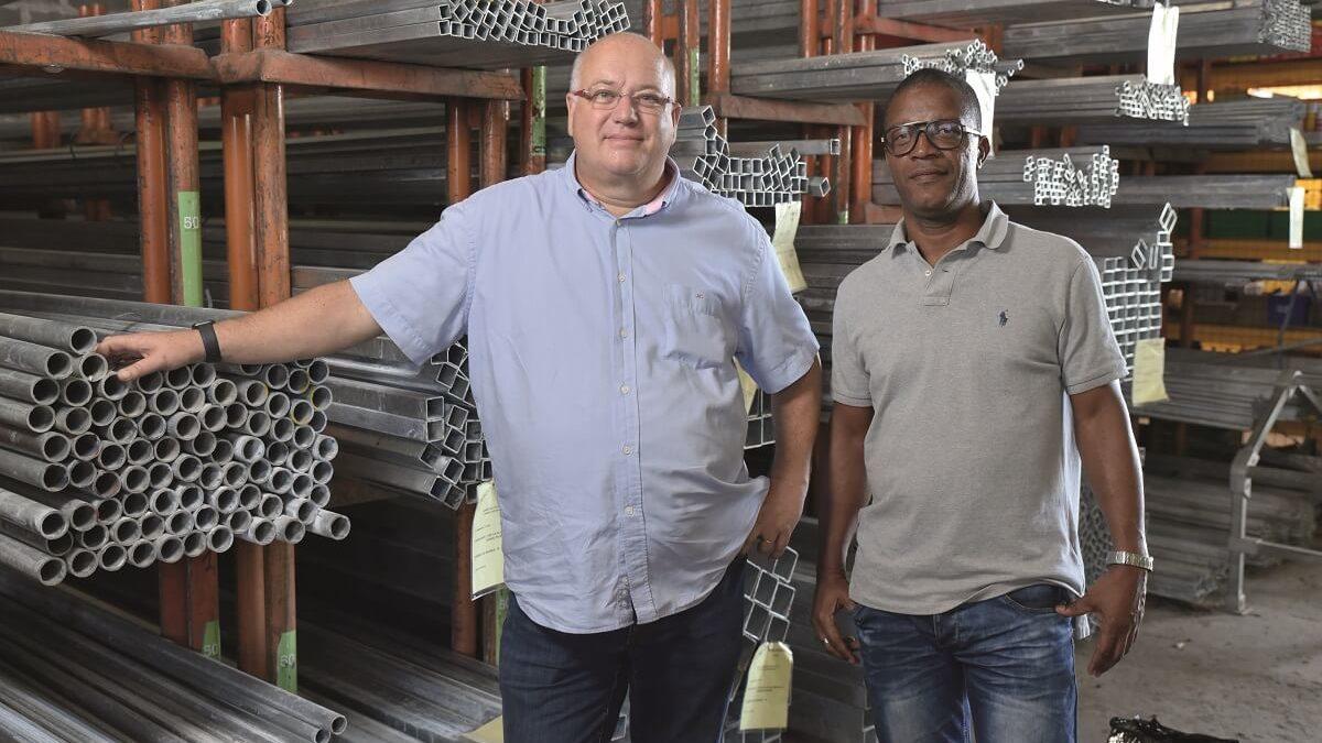 Sopimat, des produits en acier adaptés aux contraintes insulaires
