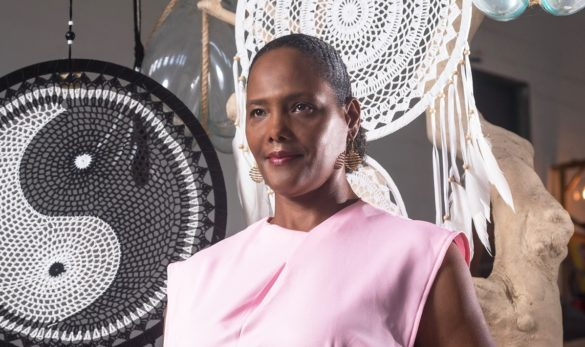 Suzanne Celeste - présidente Fédération Martiniquaise thérapeutes et praticiens bien-être