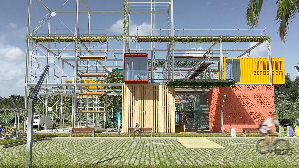 L'Université des Antilles conçoit les bâtiments de demain