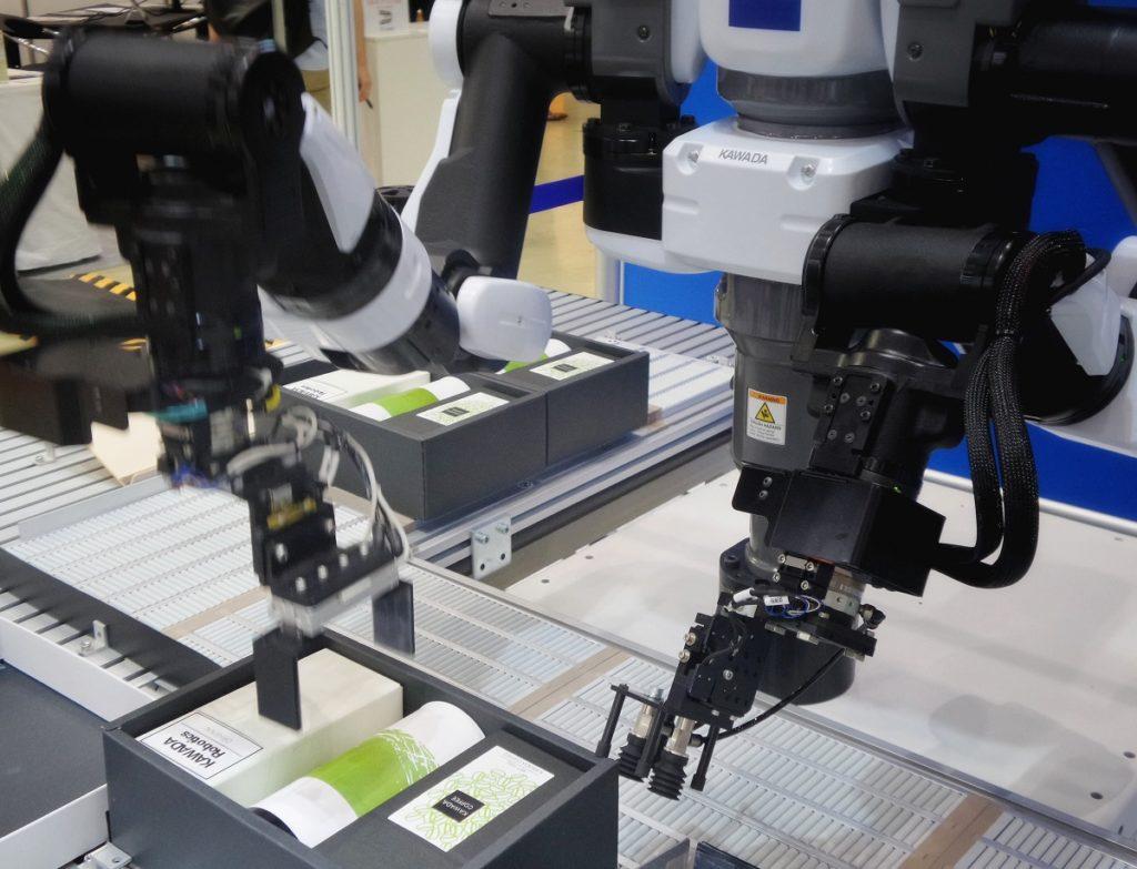 robotisation des process de la chaîne de production