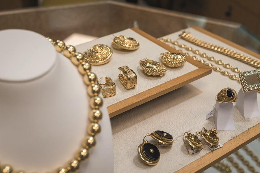 Bijoux de la bijouterie Fritz Louis